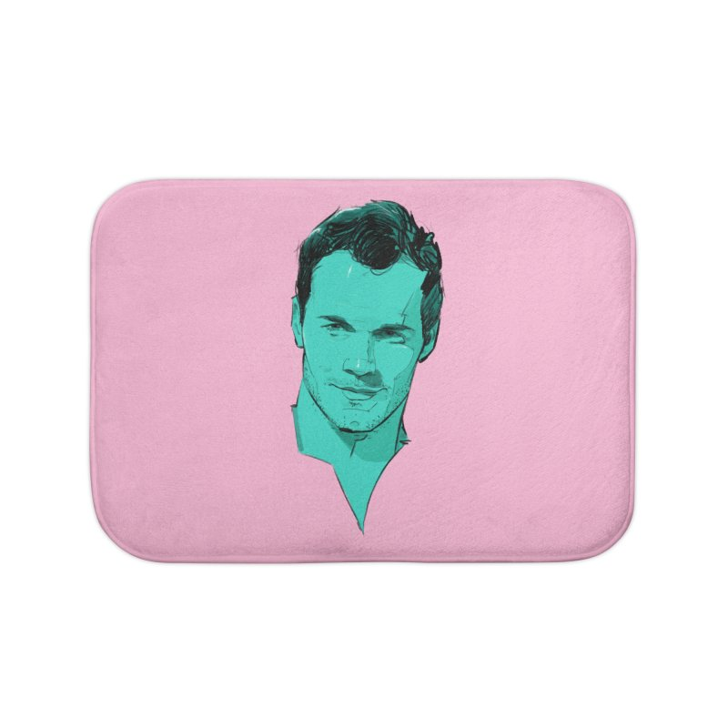 Chris P. Home Bath Mat by Ego Rodriguez's Shop