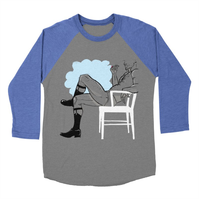 Private Show Men's Baseball Triblend T-Shirt by Ego Rodriguez's Shop