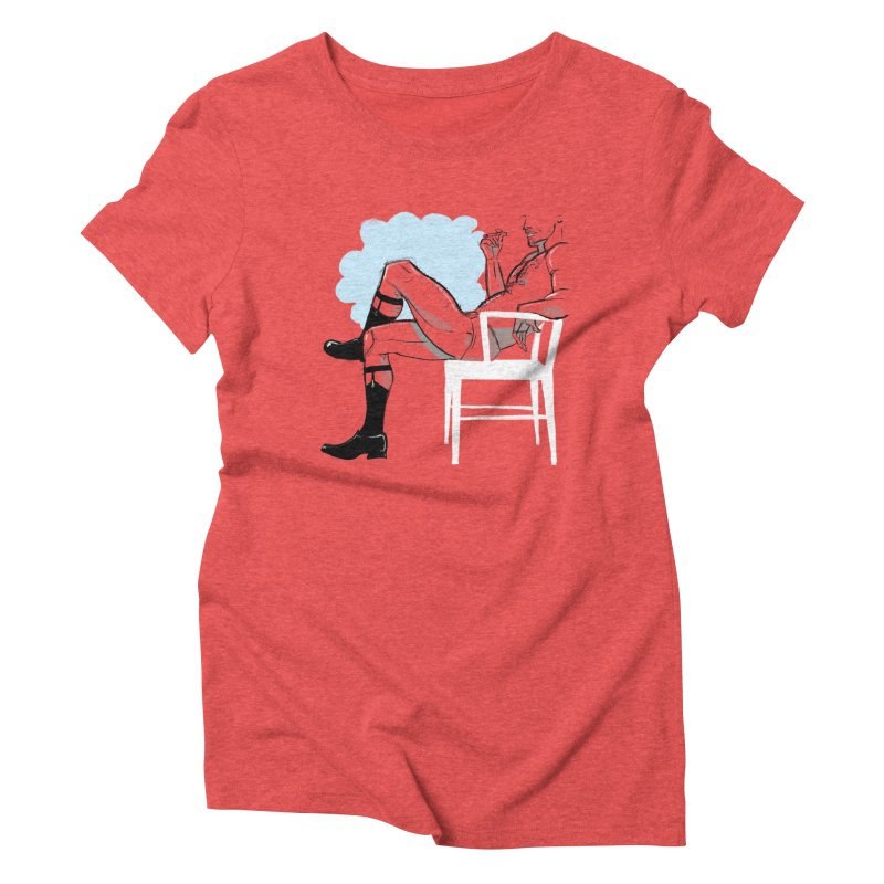 Private Show Women's Triblend T-shirt by Ego Rodriguez's Shop