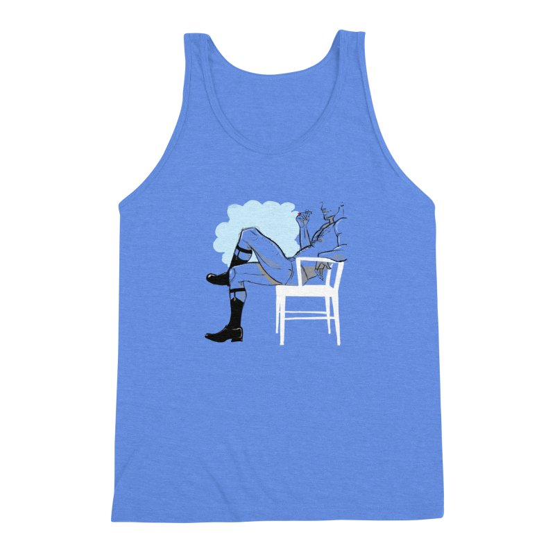 Private Show Men's Triblend Tank by Ego Rodriguez's Shop