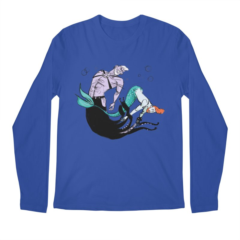 Sealife Men's Longsleeve T-Shirt by Ego Rodriguez's Shop