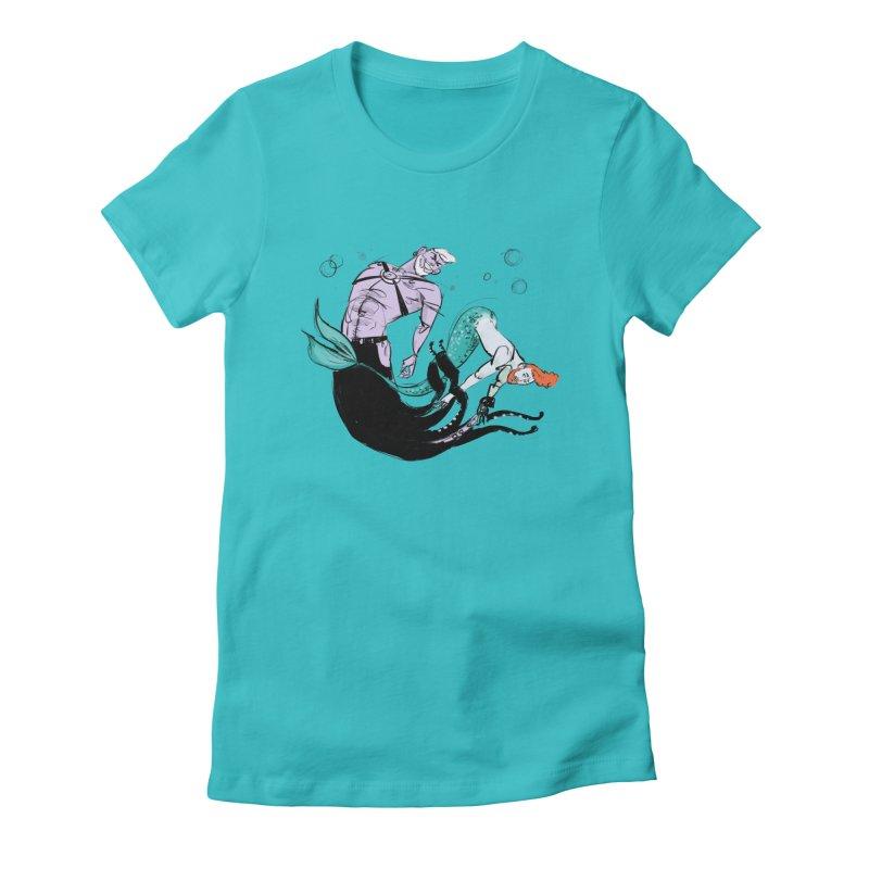 Sealife Women's T-Shirt by Ego Rodriguez