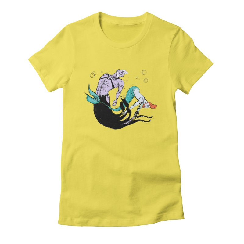 Sealife Women's Fitted T-Shirt by Ego Rodriguez's Shop