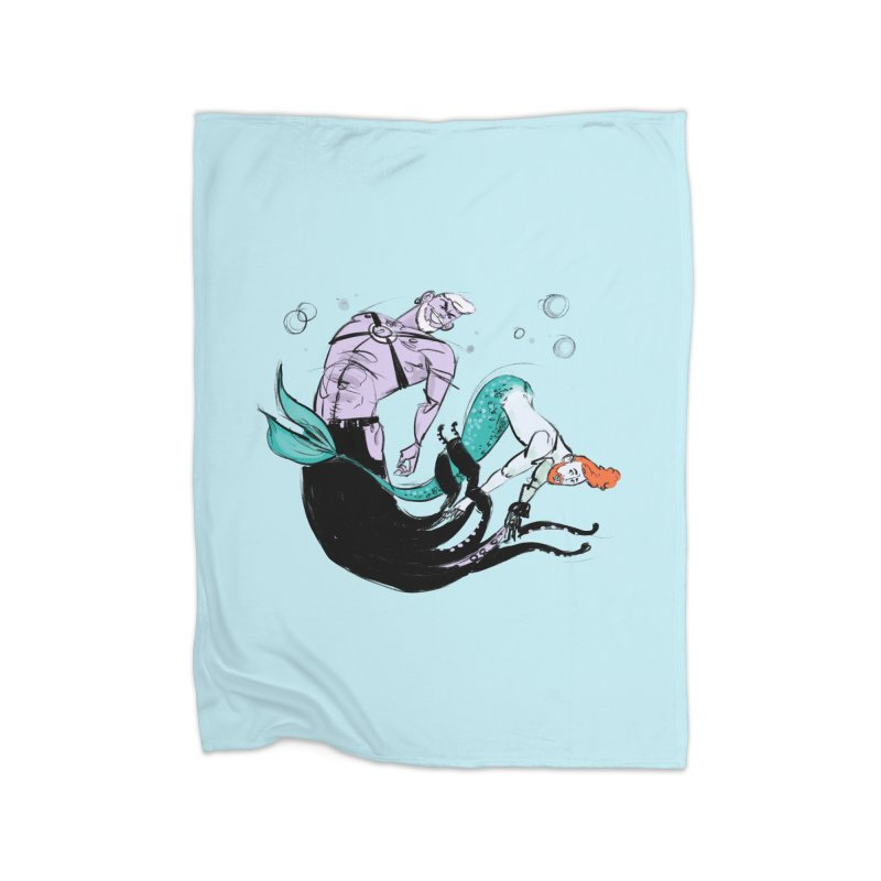 Sealife Home Blanket by Ego Rodriguez