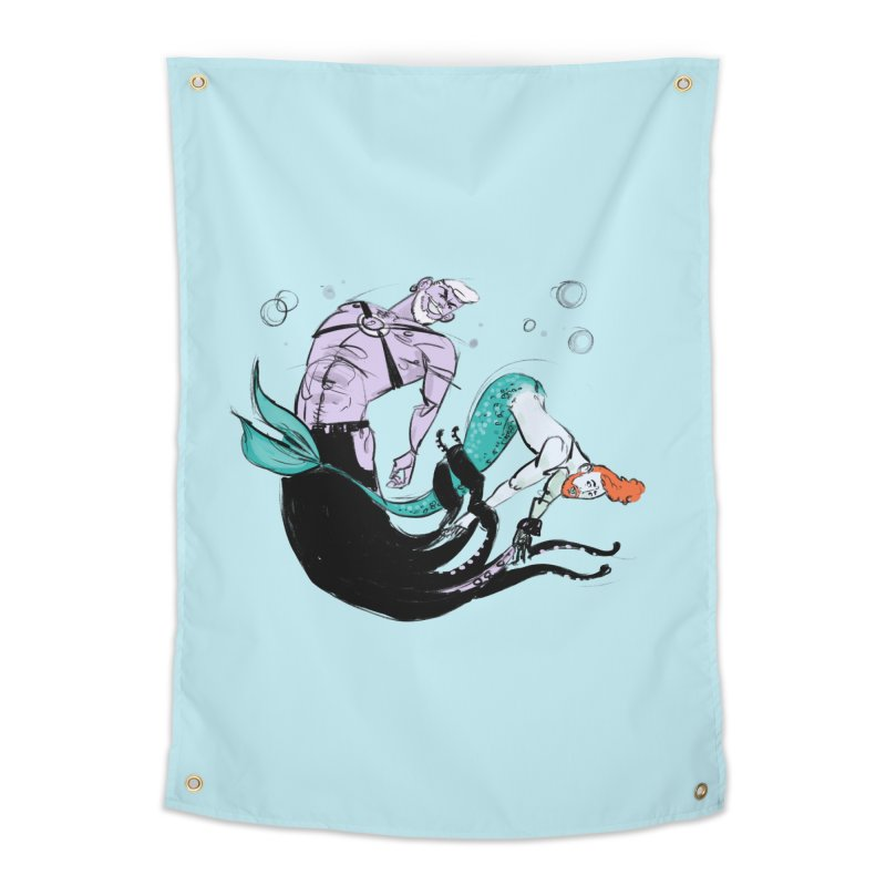 Sealife Home Tapestry by Ego Rodriguez's Shop