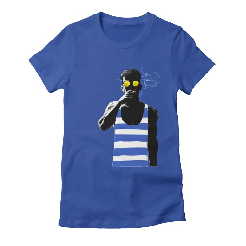 Shade Women's Fitted T-Shirt by Ego Rodriguez's Shop