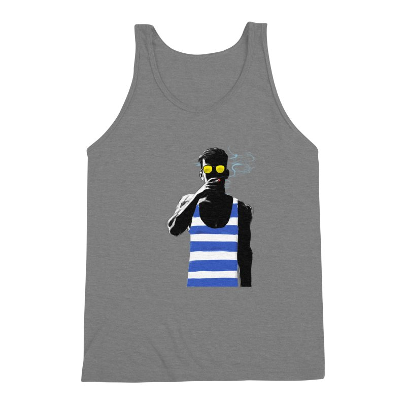Shade Men's Triblend Tank by Ego Rodriguez's Shop