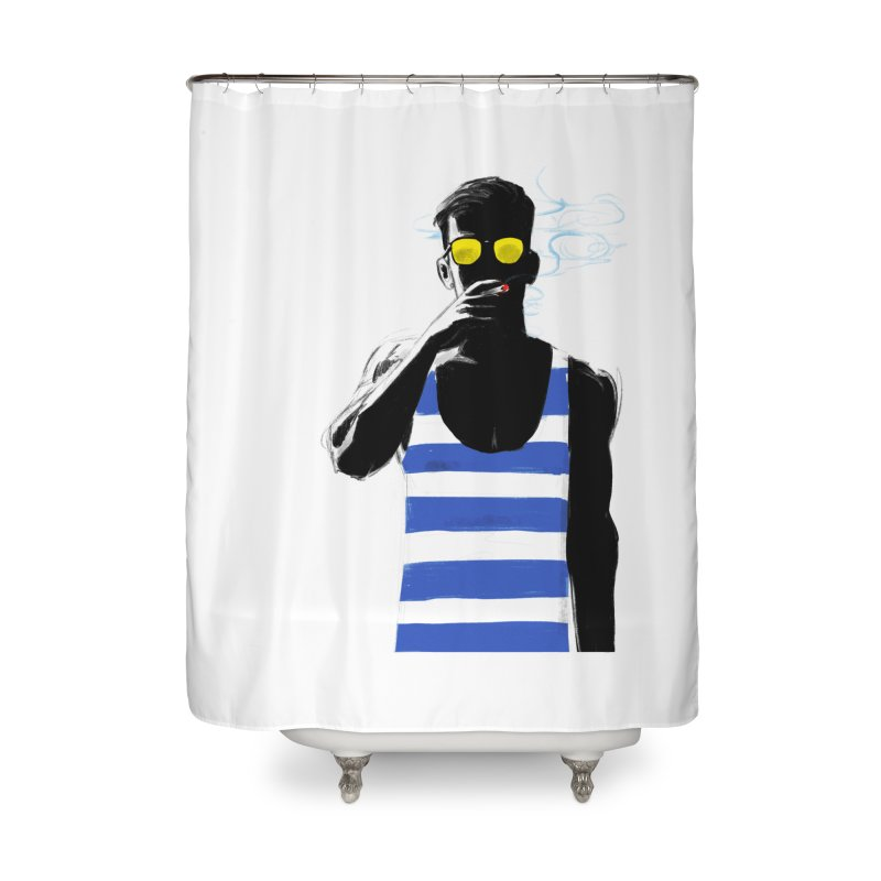 Shade Home Shower Curtain by Ego Rodriguez's Shop