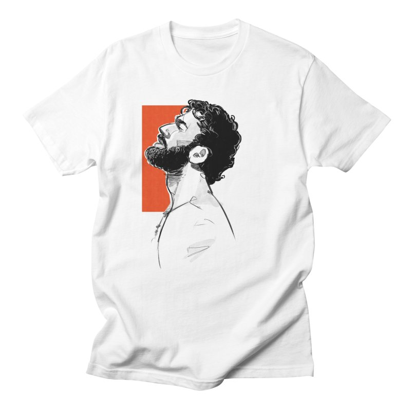 Summer in Men's T-shirt White by Ego Rodriguez's Shop