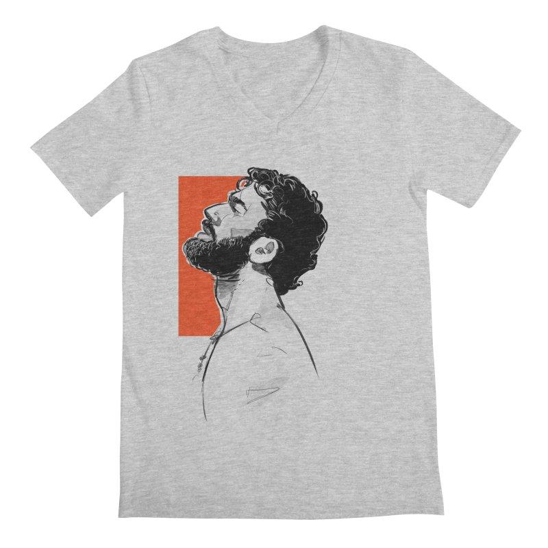 Summer Men's V-Neck by Ego Rodriguez's Shop