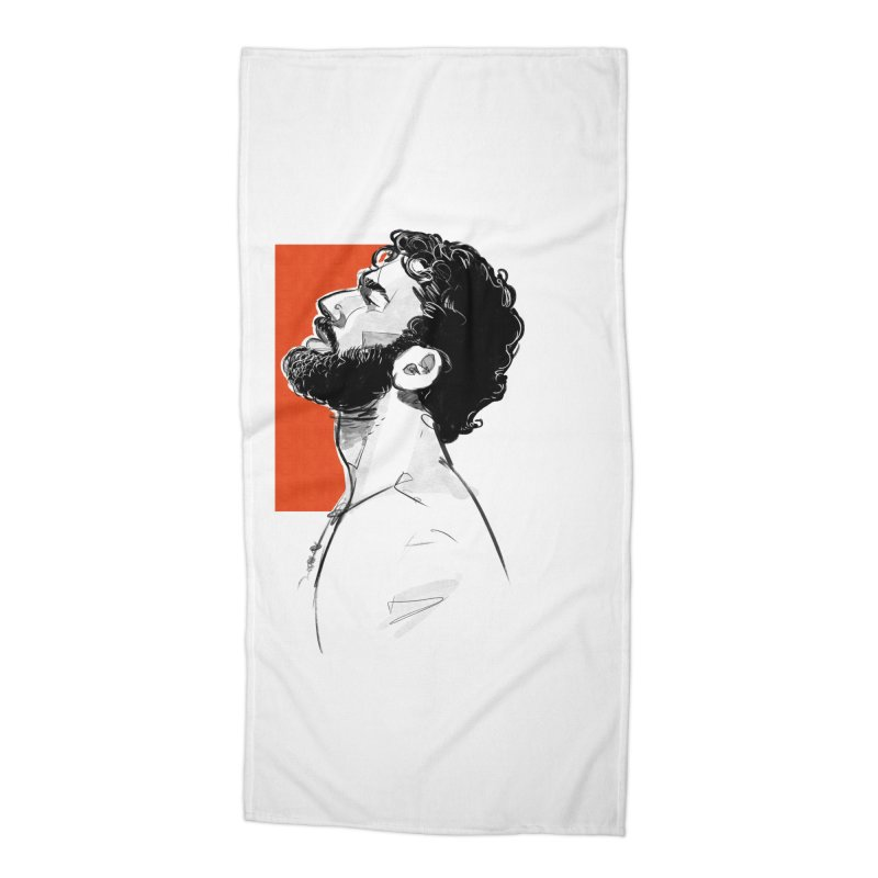 Summer Accessories Beach Towel by Ego Rodriguez's Shop