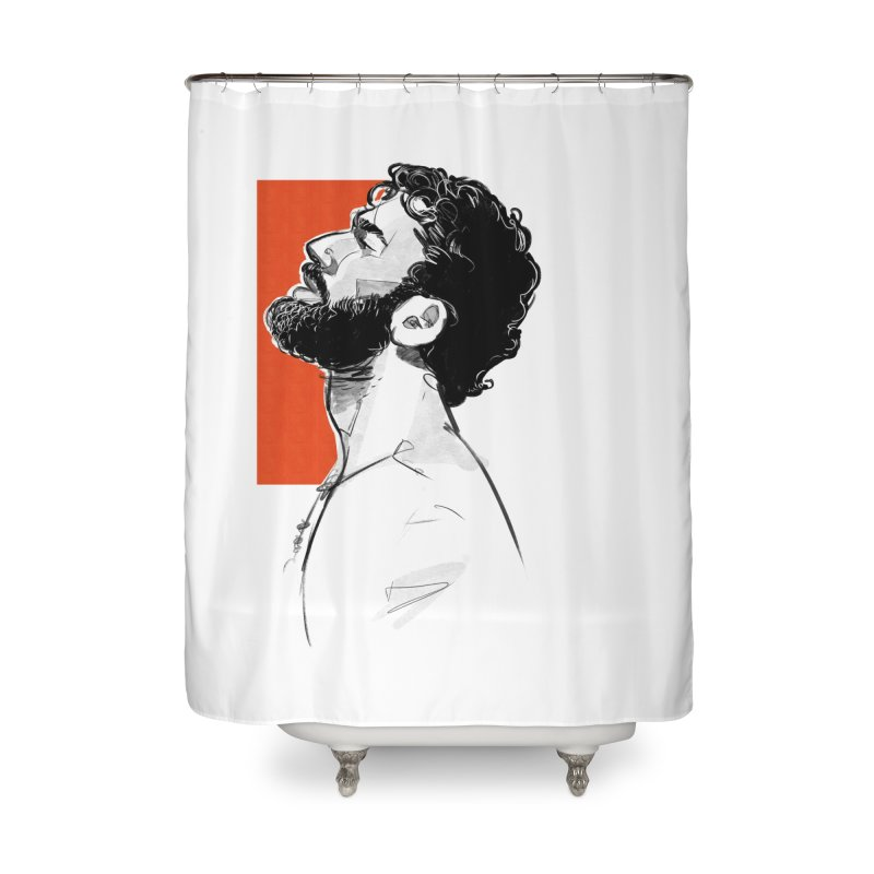 Summer Home Shower Curtain by Ego Rodriguez's Shop