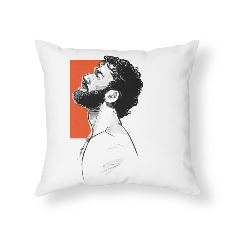 Summer Home Throw Pillow by Ego Rodriguez's Shop