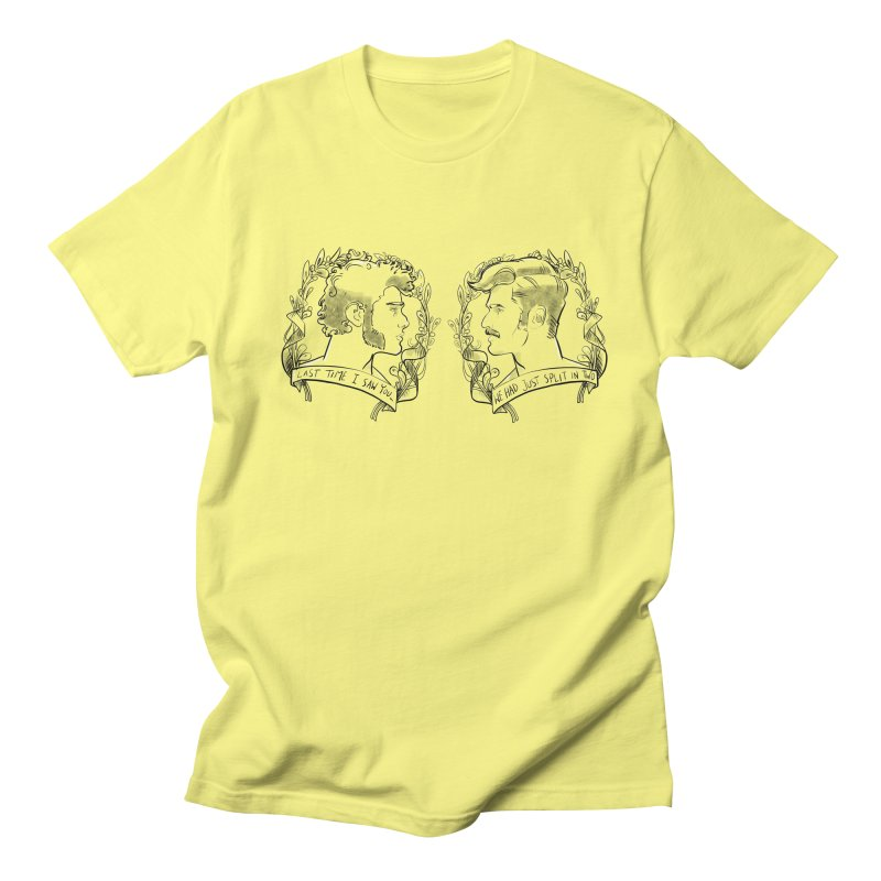 Two Women's Unisex T-Shirt by Ego Rodriguez's Shop