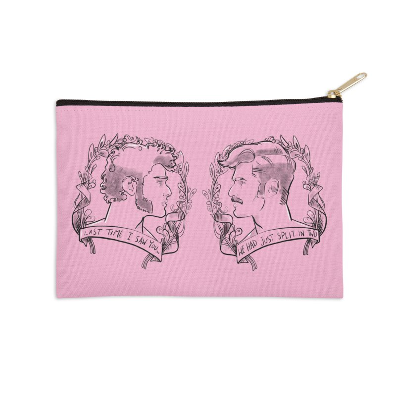 Two Accessories Zip Pouch by Ego Rodriguez's Shop
