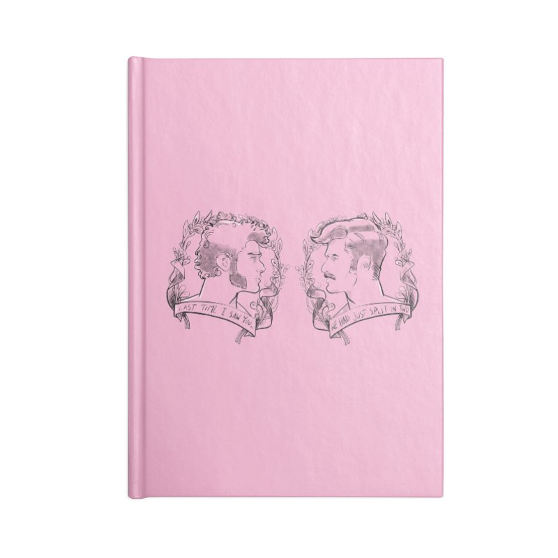 Two Accessories Notebook by Ego Rodriguez's Shop