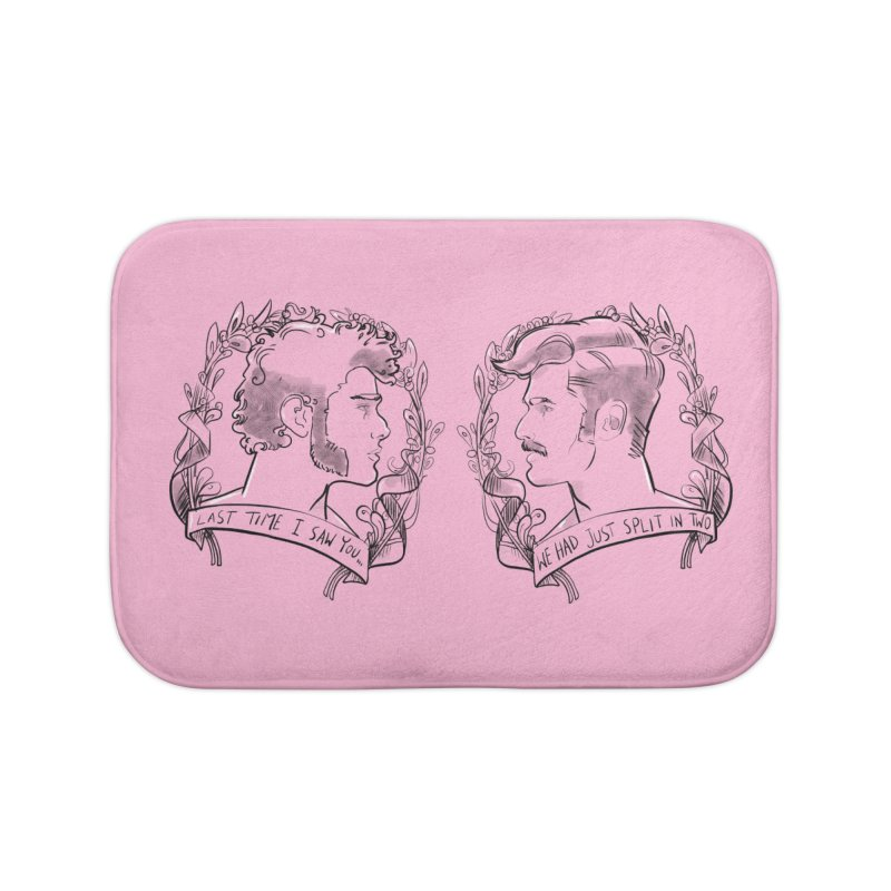 Two Home Bath Mat by Ego Rodriguez's Shop