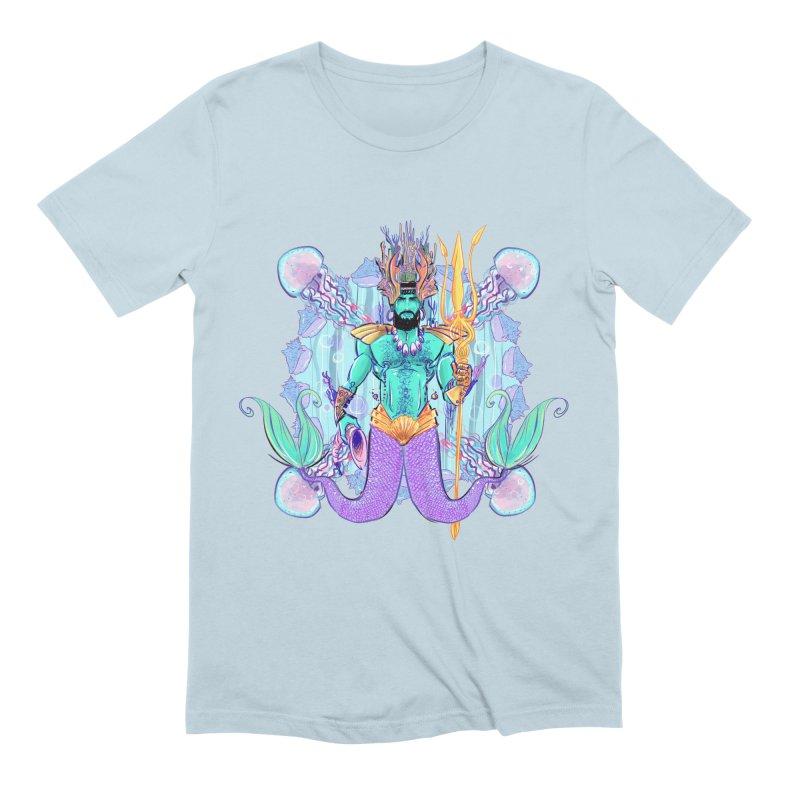 Triton Men's T-Shirt by Ego Rodriguez