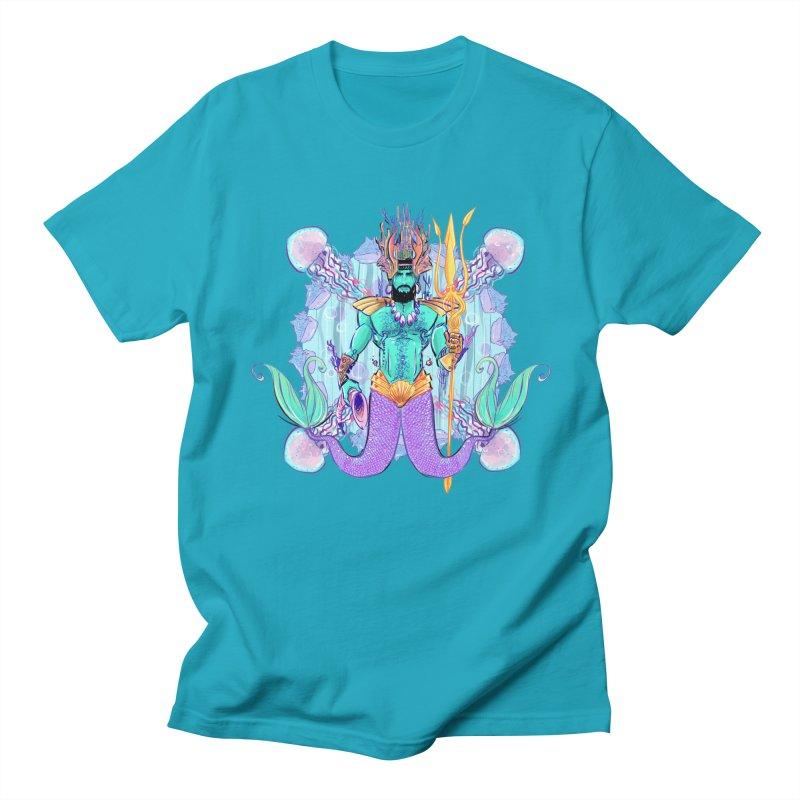 Triton Men's T-Shirt by Ego Rodriguez's Shop