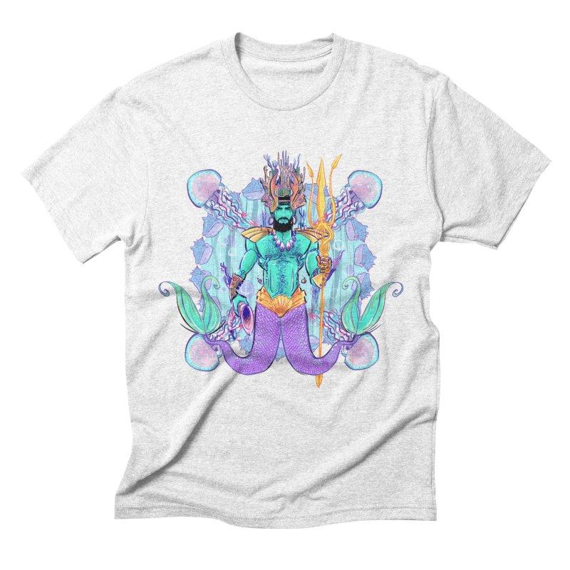 Triton Men's Triblend T-shirt by Ego Rodriguez's Shop