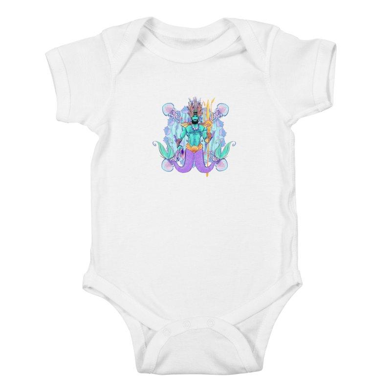 Triton Kids Baby Bodysuit by Ego Rodriguez's Shop