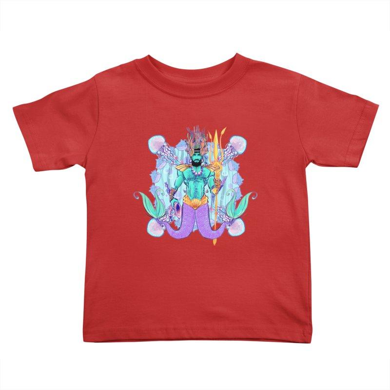 Triton Kids Toddler T-Shirt by Ego Rodriguez