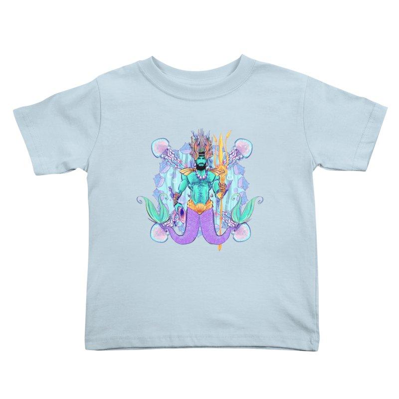 Triton Kids Toddler T-Shirt by Ego Rodriguez's Shop