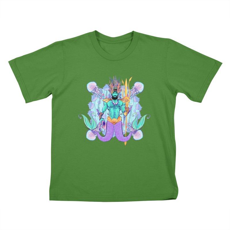 Triton Kids T-Shirt by Ego Rodriguez