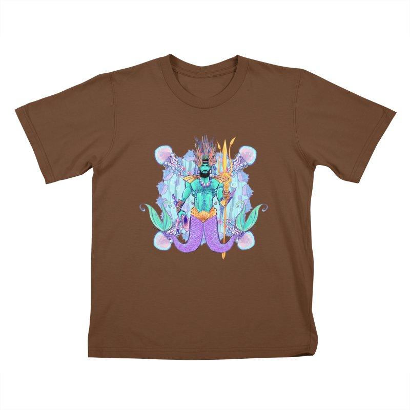Triton Kids T-shirt by Ego Rodriguez's Shop
