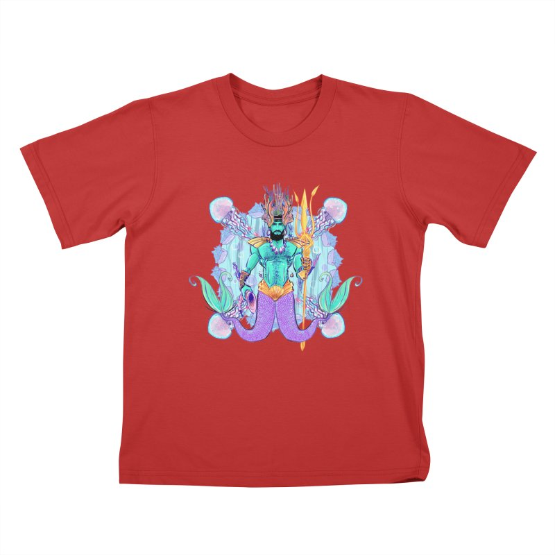 Triton Kids T-shirt by Ego Rodriguez's Shop