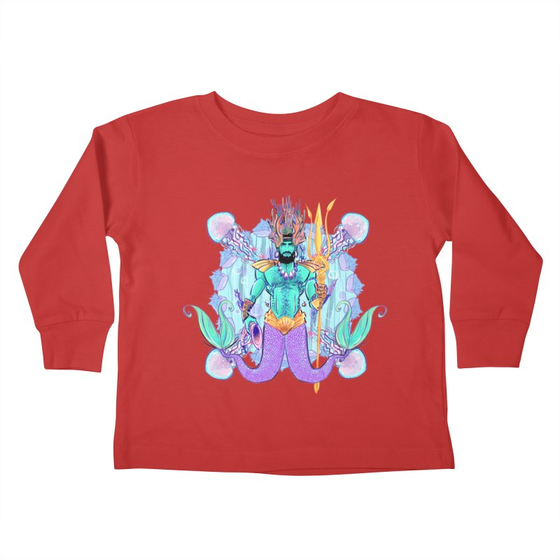 Triton Kids Toddler Longsleeve T-Shirt by Ego Rodriguez's Shop