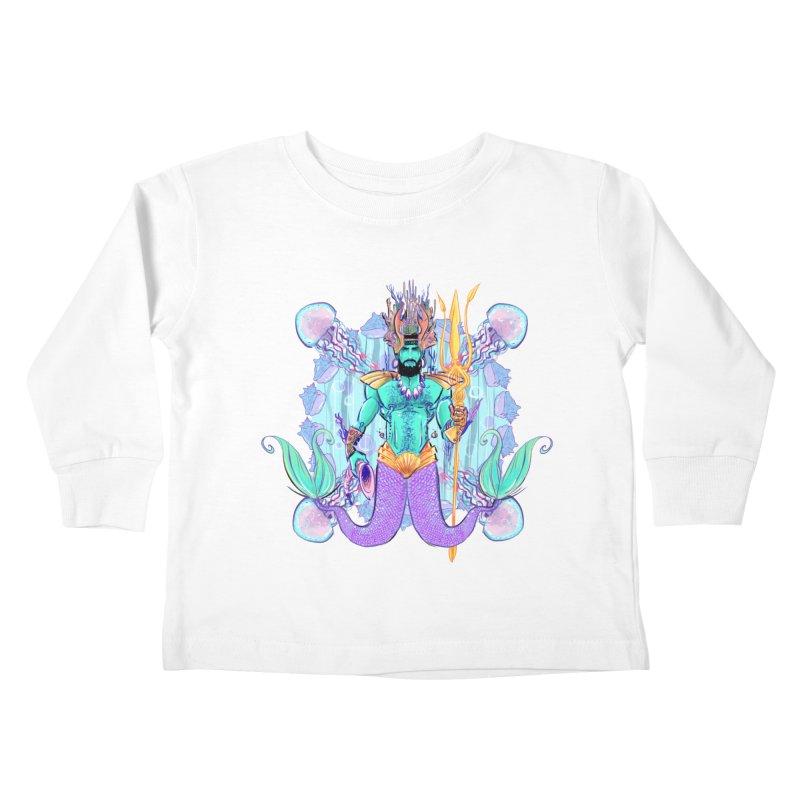 Triton Kids Toddler Longsleeve T-Shirt by Ego Rodriguez