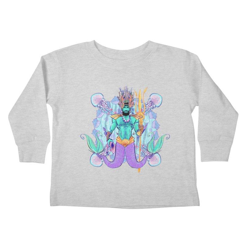 Triton Kids Toddler Longsleeve T-Shirt by Ego Rodriguez's Shop