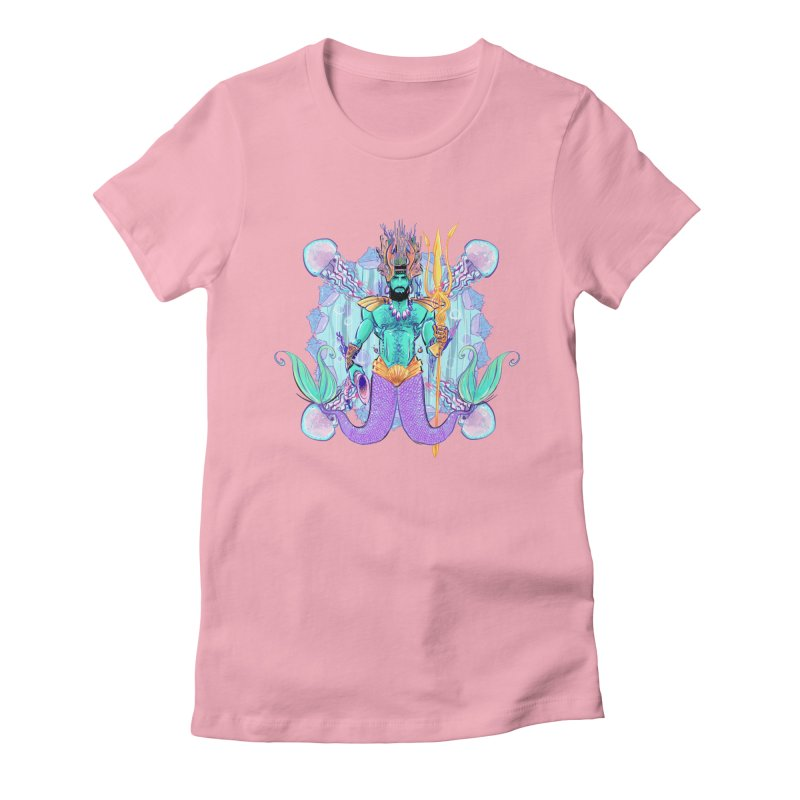 Triton Women's Fitted T-Shirt by Ego Rodriguez's Shop