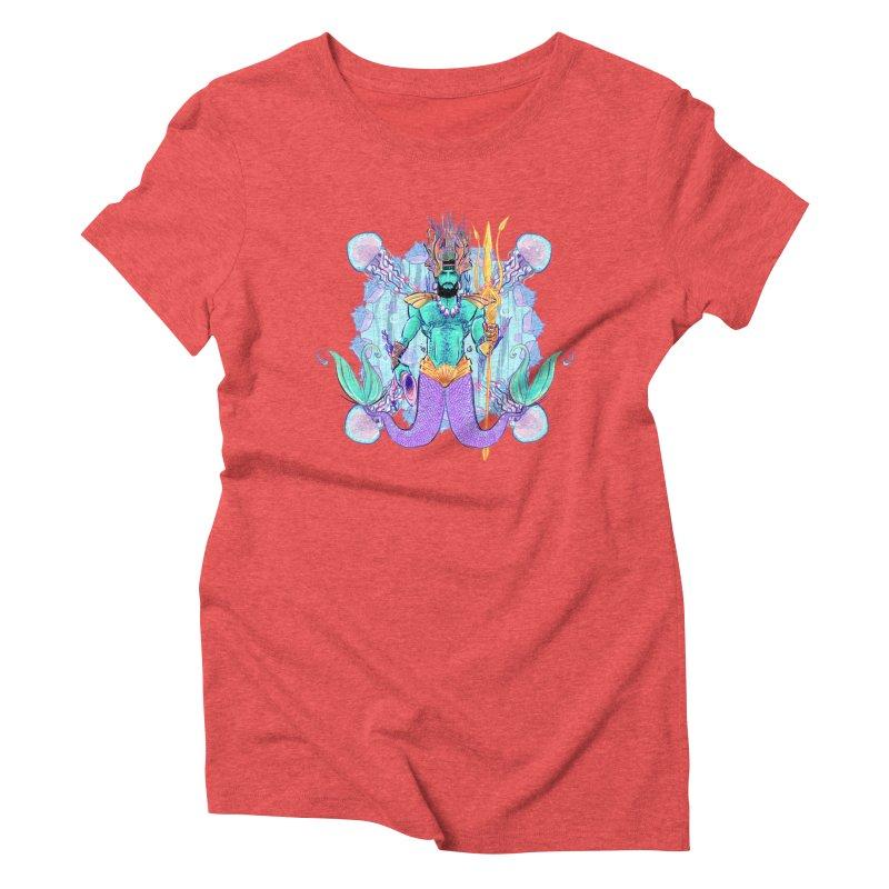 Triton Women's Triblend T-shirt by Ego Rodriguez's Shop