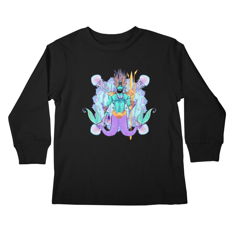 Triton Kids Longsleeve T-Shirt by Ego Rodriguez's Shop