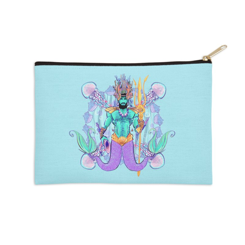 Triton Accessories Zip Pouch by Ego Rodriguez's Shop