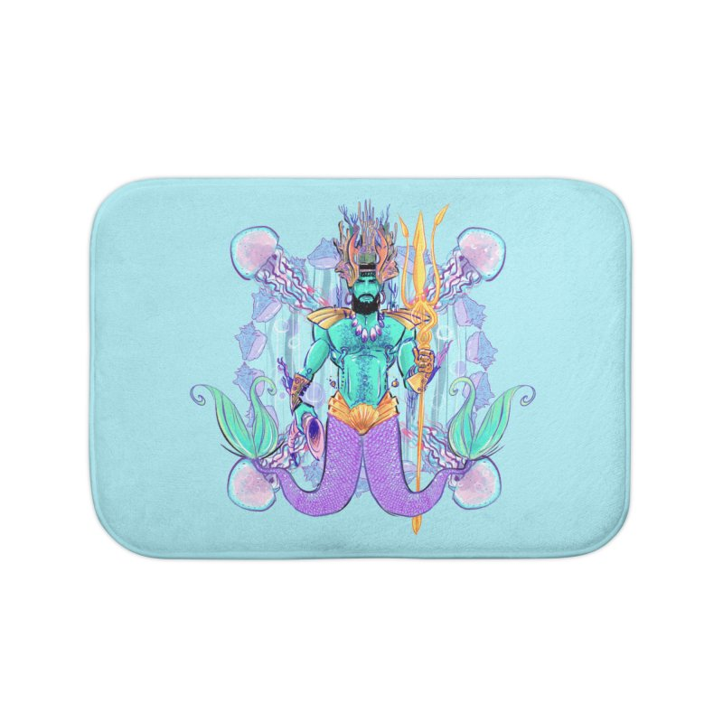 Triton Home Bath Mat by Ego Rodriguez's Shop