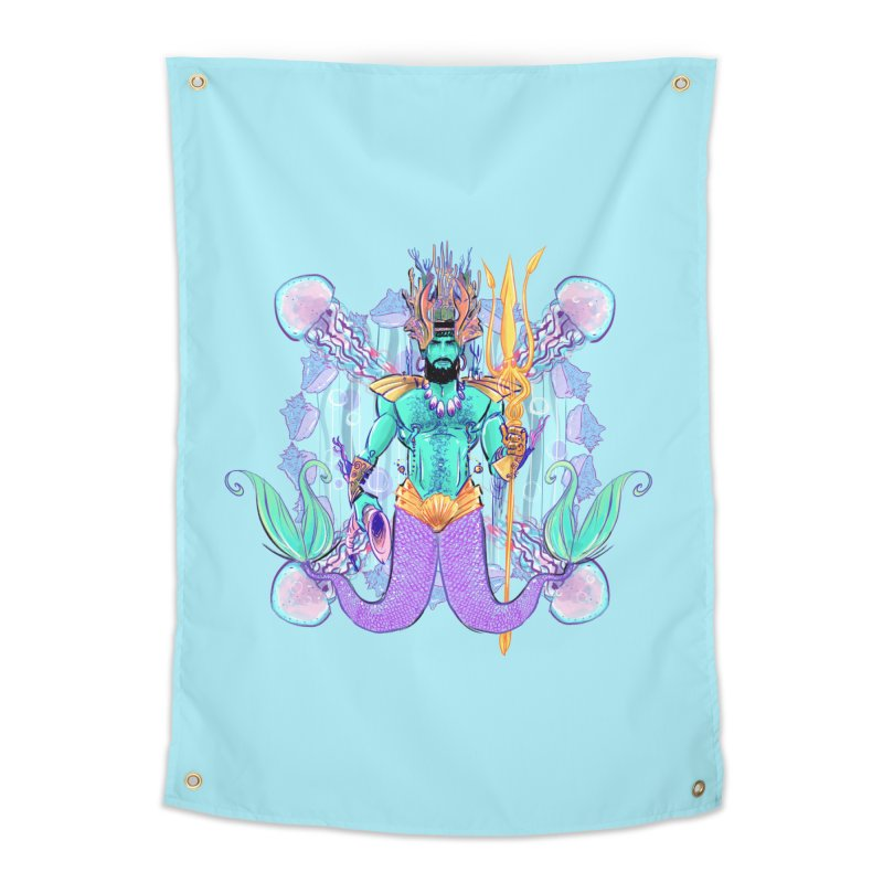 Triton Home Tapestry by Ego Rodriguez's Shop