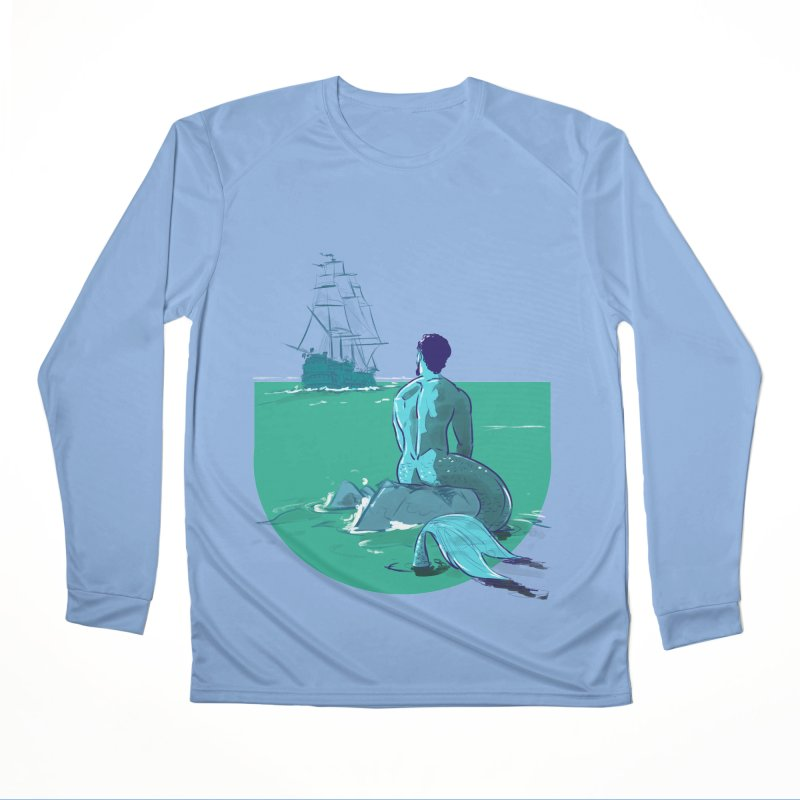 Ocean Men's Longsleeve T-Shirt by Ego Rodriguez