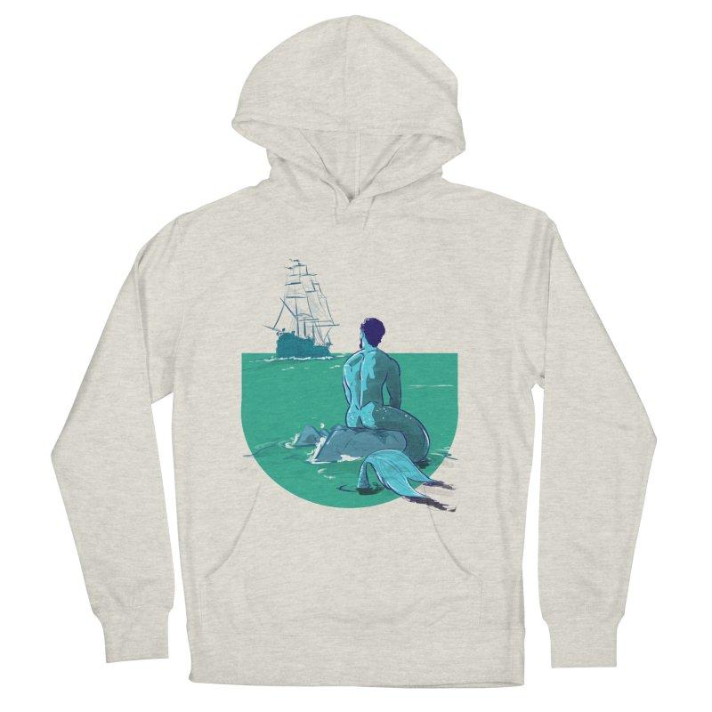 Ocean Men's Pullover Hoody by Ego Rodriguez