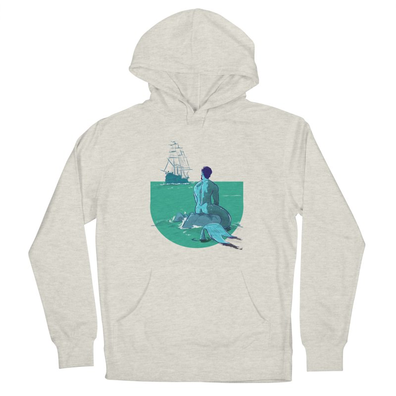 Ocean Women's Pullover Hoody by Ego Rodriguez