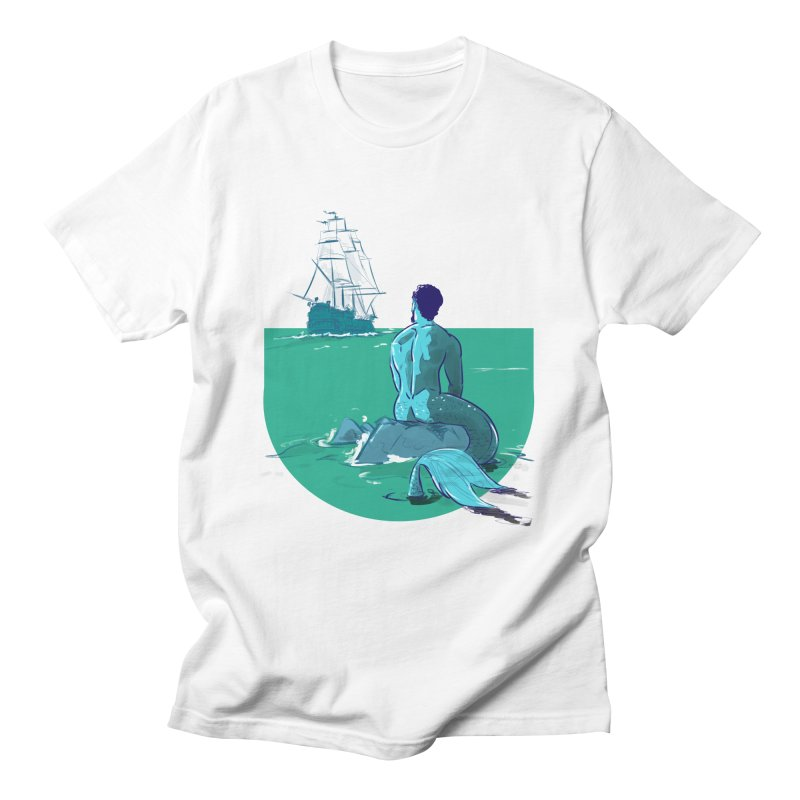 Ocean Men's T-Shirt by Ego Rodriguez