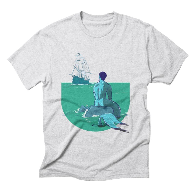 Ocean Men's Triblend T-Shirt by Ego Rodriguez's Shop