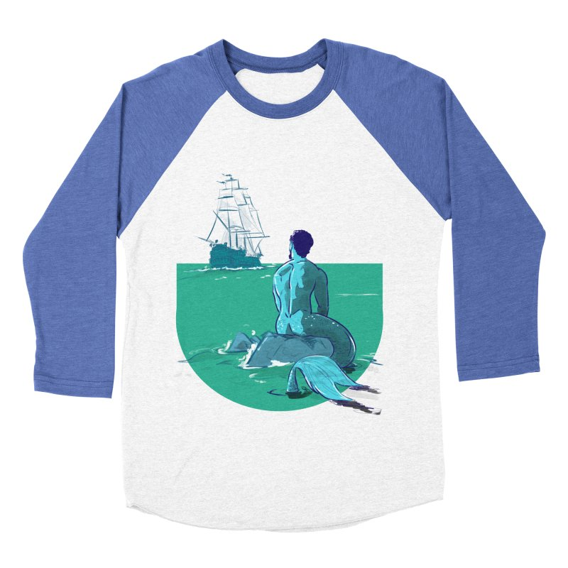 Ocean Women's Baseball Triblend T-Shirt by Ego Rodriguez's Shop