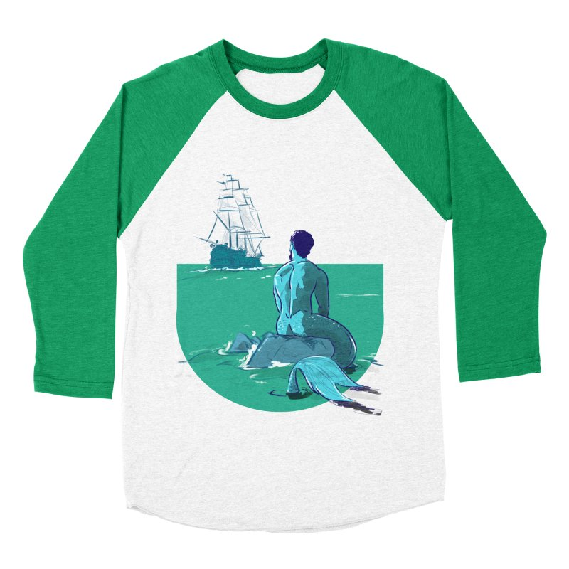 Ocean Men's Baseball Triblend T-Shirt by Ego Rodriguez's Shop