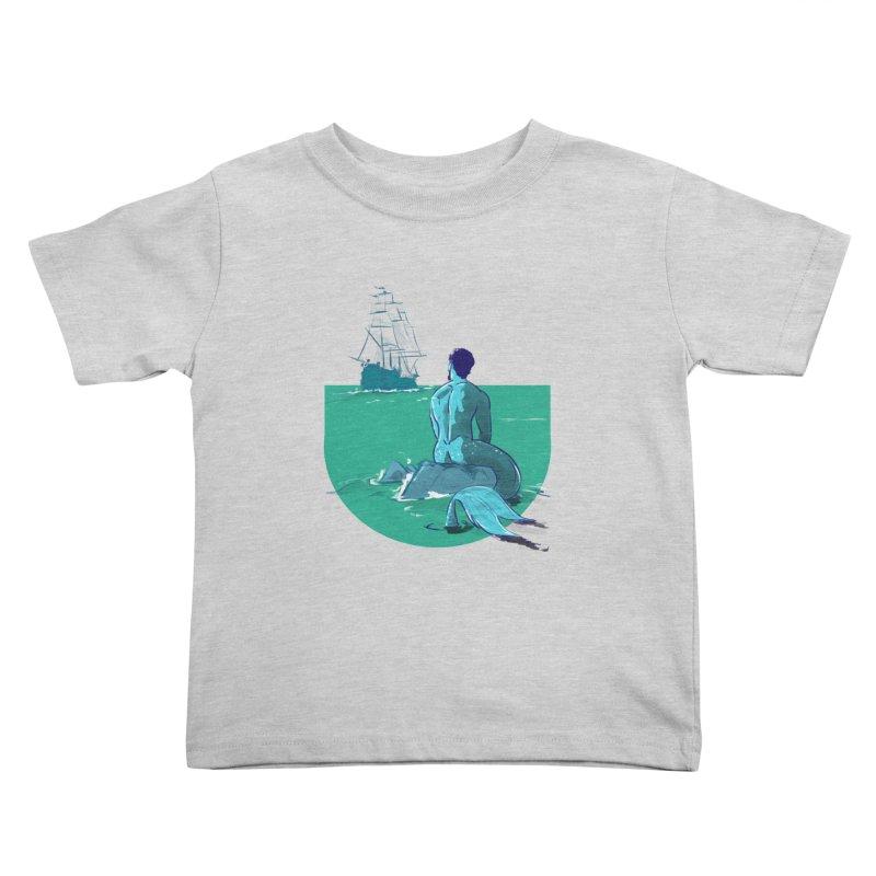 Ocean Kids Toddler T-Shirt by Ego Rodriguez's Shop
