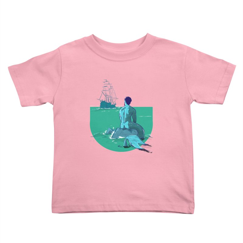 Ocean Kids Toddler T-Shirt by Ego Rodriguez