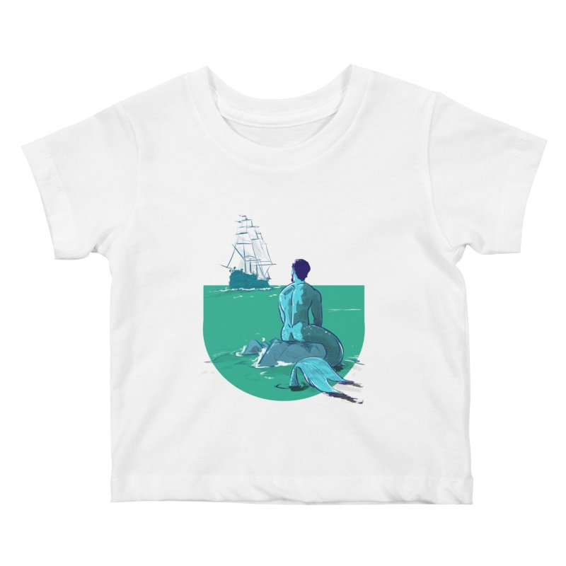 Ocean Kids Baby T-Shirt by Ego Rodriguez