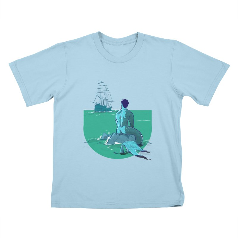 Ocean Kids T-Shirt by Ego Rodriguez's Shop